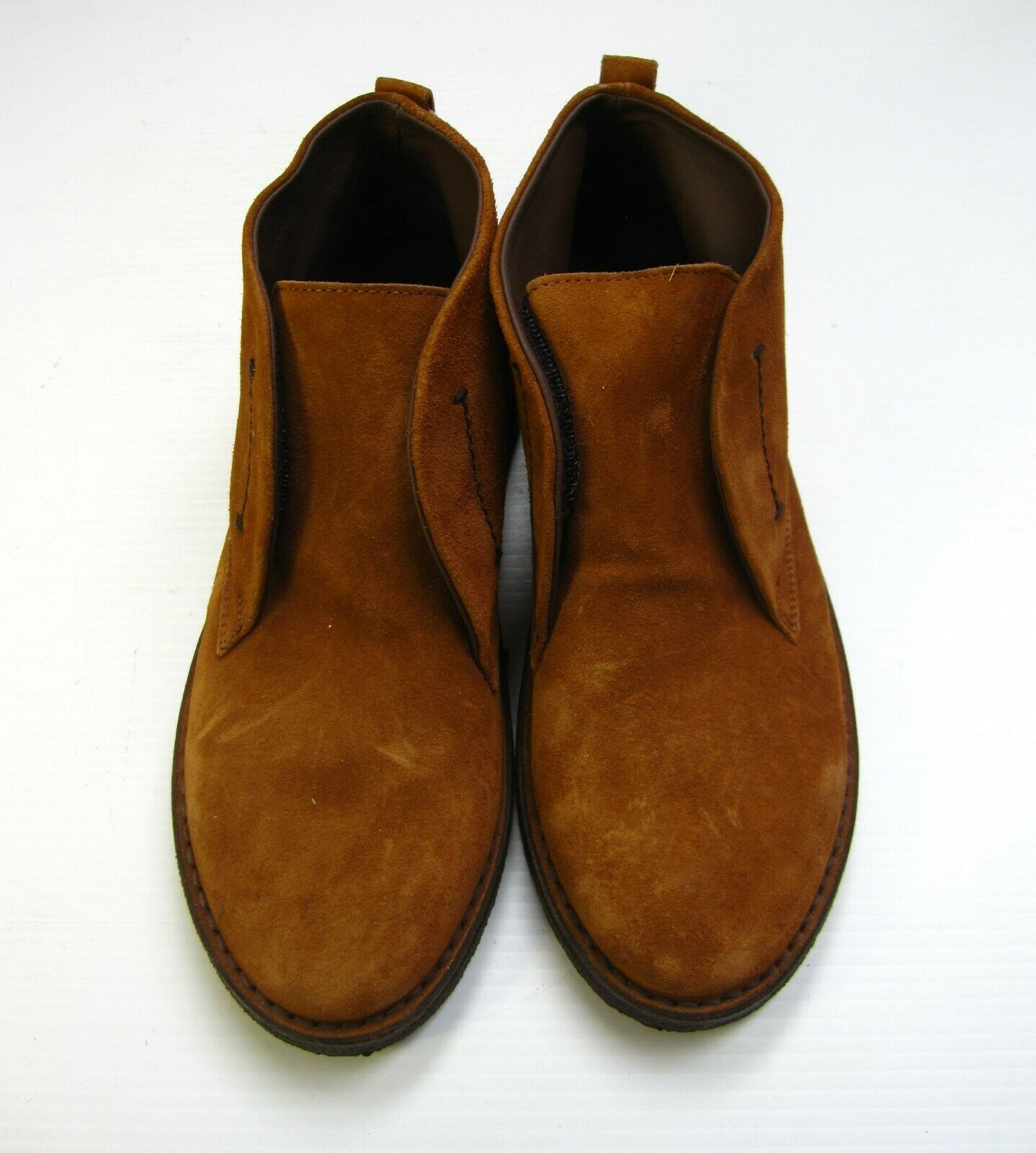 Boemos Men Ankle shoes Size 37 Suede Brown Made In  Casual Retro