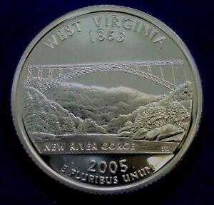 2007-S Washington Gem DCAM Silver Proof State Quarter Stunning Coin