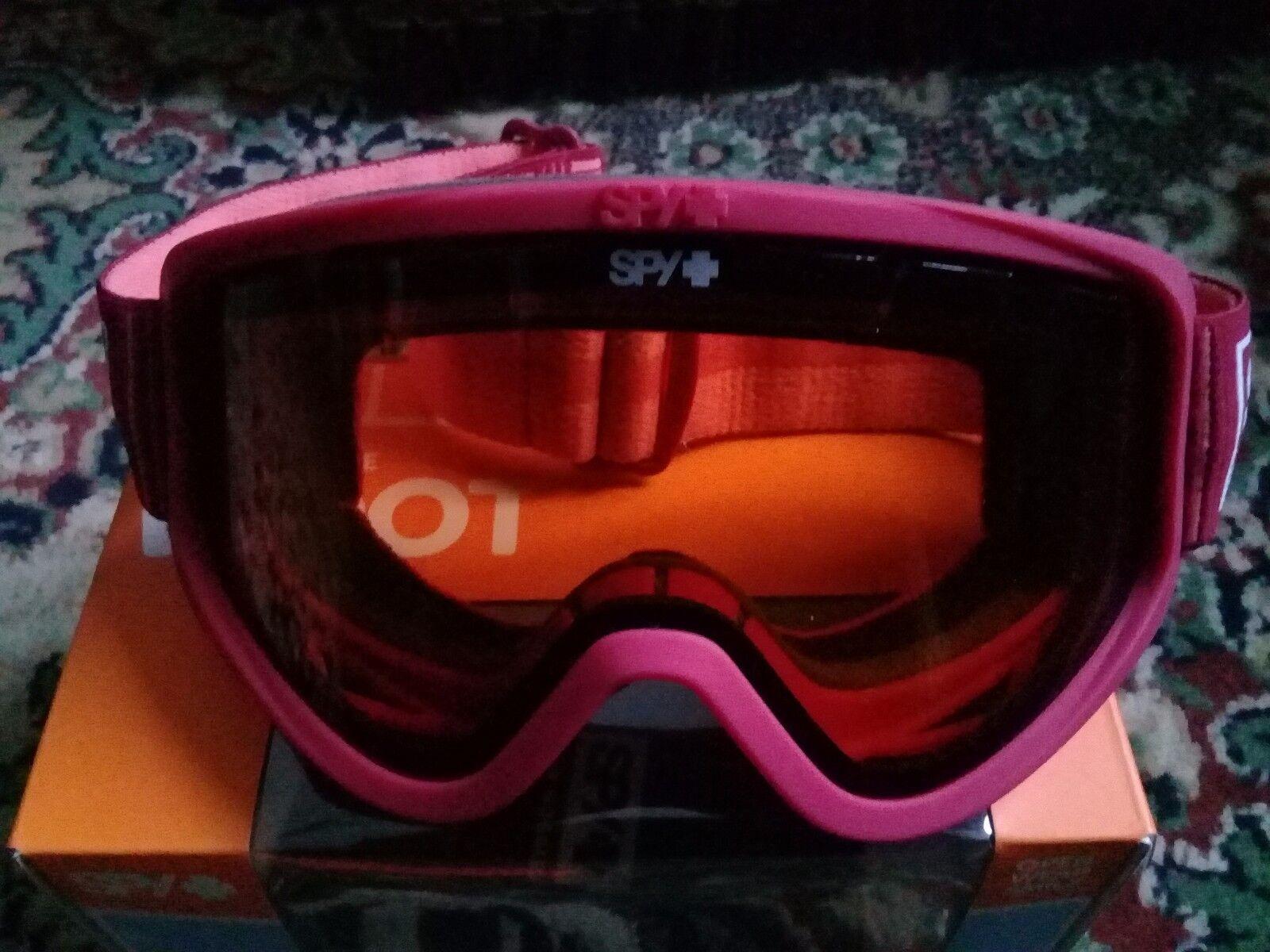 Spy Woot Permission snow board  Ski goggles size 5 deep winter bush