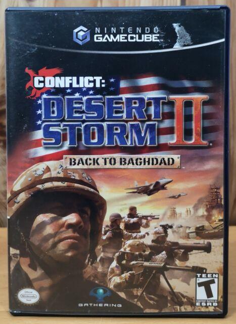 Conflict: Desert Storm 2 Back to Baghdad (Nintendo GameCube, 2005) * Complete T