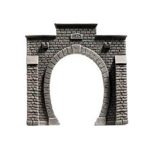 NOCH Single Track Profi Hard Foam Tunnel Portal HO Gauge Scenics 58051