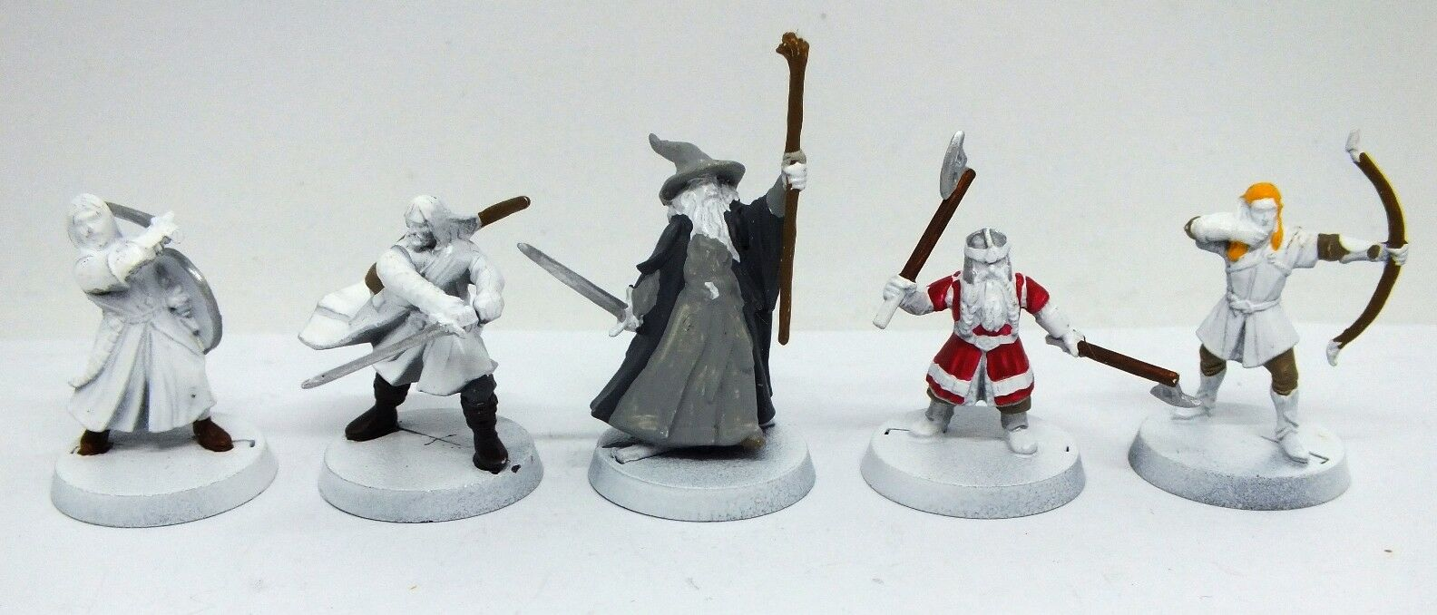 The Lord of the Anneaux - The Fellowship of the Ring (INCOMPLÈTES) - 28mm