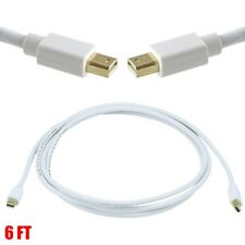 4K Leapmicro 6ft Mini DisplayPort Male to Male Cable 60Hz