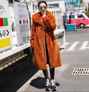 Fur S Tykk Koreansk xl Kvinders Top Mid Coat Long Winter Hooded Jacket Asiatisk Sbox1 4q5zawF5