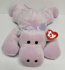 """TY Pillow Pal """"Tubby"""" the Hippo, PRISTINE Brand New, TOTALLY SAFE for BABIES!!!"""