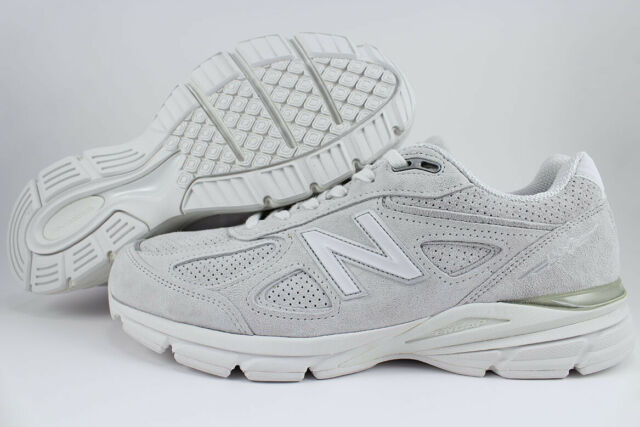 info for 7361d 66af5 NEW BALANCE 990 V4 ARCTIC FOX GRAY/WHITE MADE IN USA RUNNING M990AF4 US MEN  SIZE