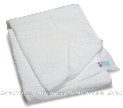 "IMABARI Bath Towel /""Five Star Hotel Style/"" White Japanese Bath Towel 60 x 120cm"