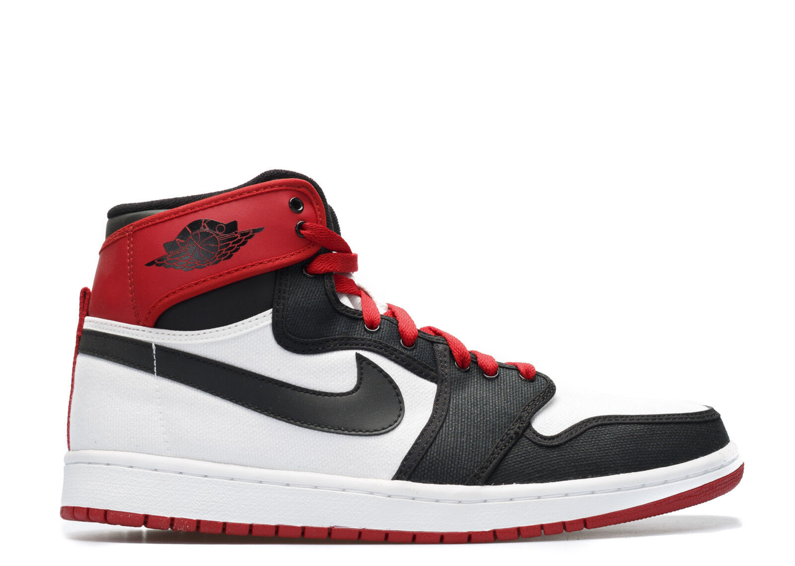 Nike Air Jordan 1 KO AJKO High OG Black Toe White Red size 11.5. 402297-110.