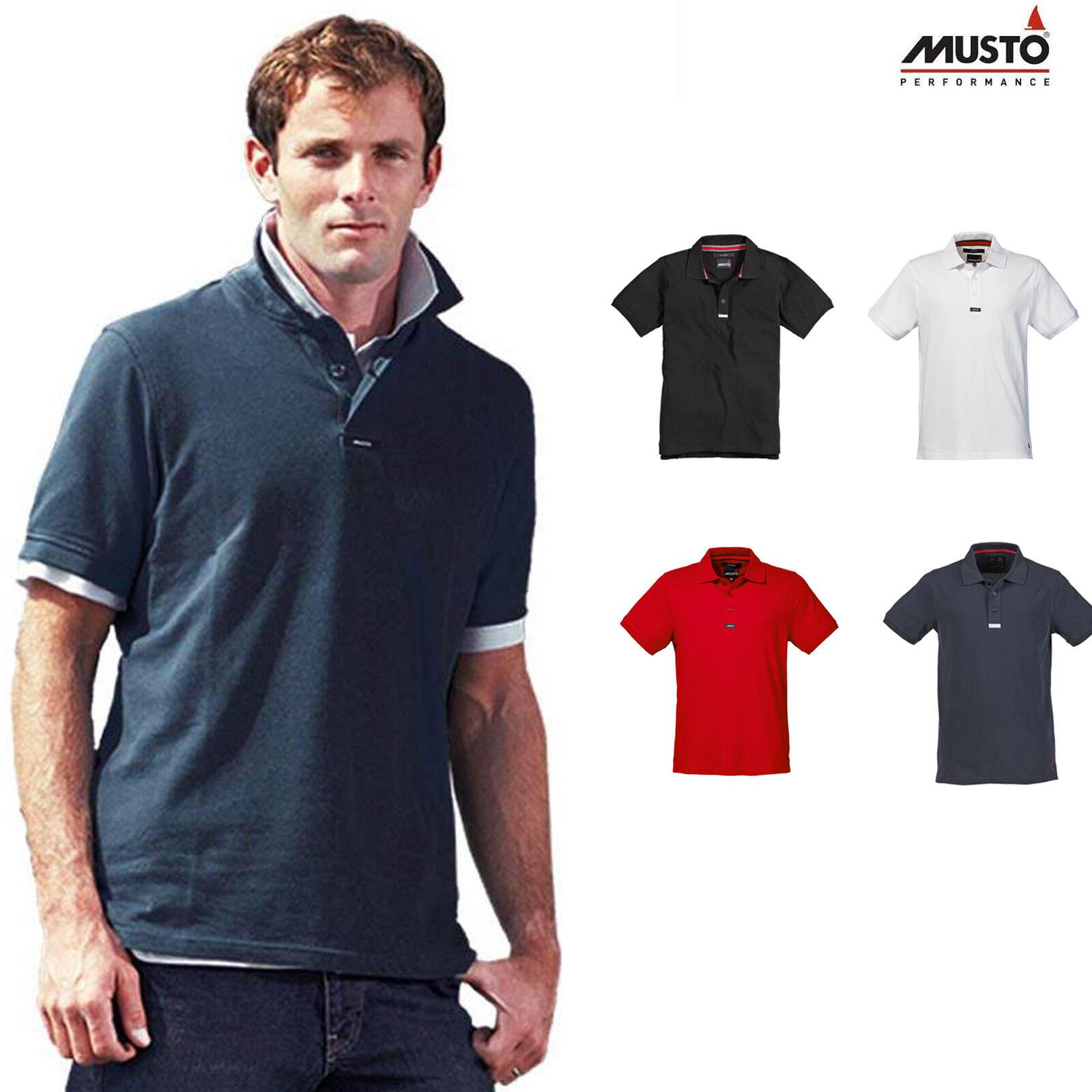 Musto Team Pique Polo Short Sleeve T-Shirt MP24227CC