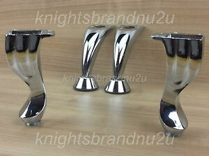 4x-CHROME-REPLACEMENT-FURNITURE-FEET-LEGS-SOFA-BEDS-CHAIRS-STOOLS-PRE-FIX