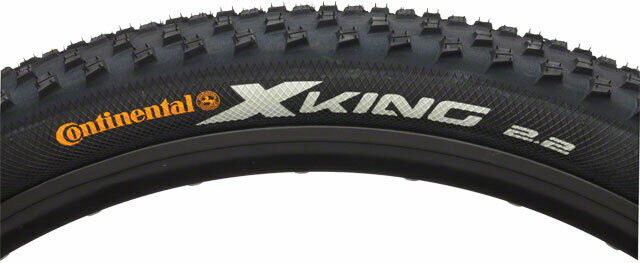 27.5 x 2.2 Tubeless Ready MTB Continental X-King Tire ProTection Black Chili