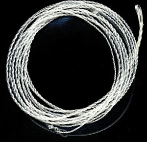 Furled-22-Lb-Fluorocarbon-Dyneema-Saltwater-Fly-Fishing-Leader-3-foot-with-RING