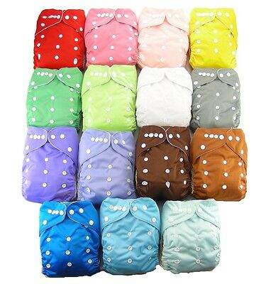 Shine Baby Infant Cloth Nappy Reusable Diapers Covers Diaper Liners Insert 2.0