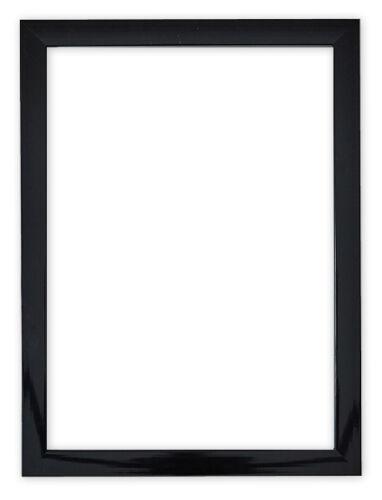 Black Gloss Photo Frame Picture Frame Poster Frames Black Gloss High ...