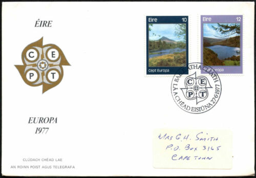 Ireland 1977 Europa FDC First Day Cover #C40775