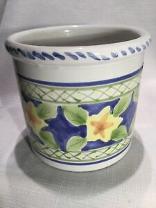 Details about Grandmas Estate Mesa International Pottery Handcrafted in  Italy Utensil Holder