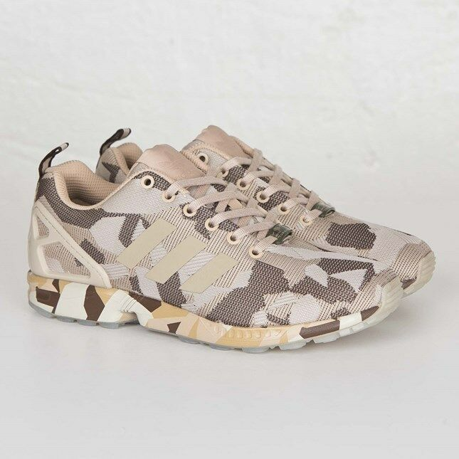 Adidas ZX Flux AF6308 Clear Brown Men Size US 4.5 New 100% Authentic