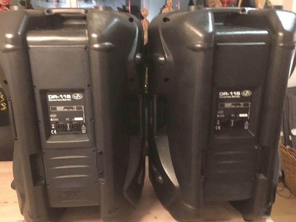 Højtaler monitor, D.A.S DR-115