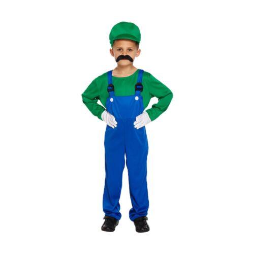 Fancy Dress Up Costume Super Mario Jedi Ninja Spaceman Soldier Army Boys Age 4-9