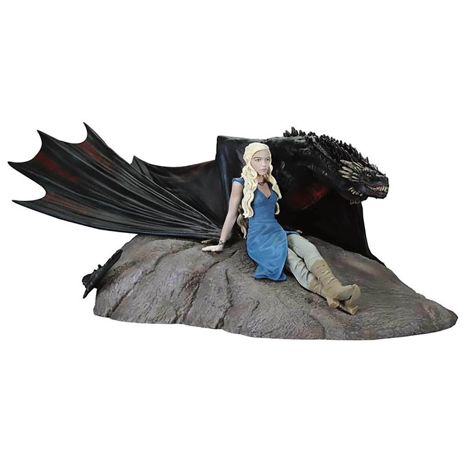 E Nuovo Di Zecca Sigillato, Dark Horse GAME OF THRONES Daenerys & Drogon Statuetta