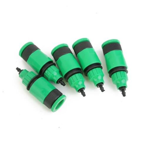 5pcs Water Hose Pipe Adapters for Drip irrigation 4//7 8//11mm Capillary Hose