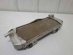 2009 Kawasaki KX250F OEM Left Radiator 39061-0169 KX250 F KX 250 09  #11
