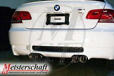 Meisterschaft Stainless Steel 4x83mm HP Exhaust for BMW E92/93 M3