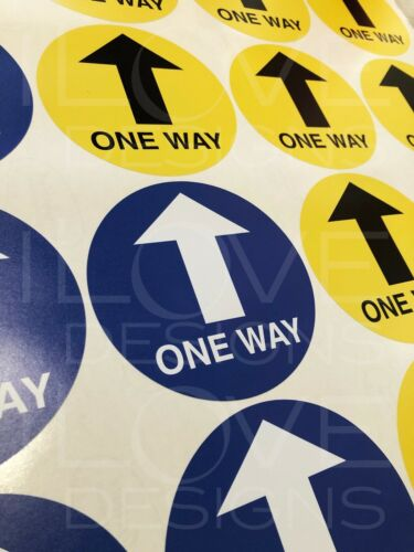 Keep Apart Signage Social Distancing Stickers Shop Pub Restaurant Public Signs
