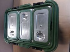 Cambro UPCS180 Food Carrier with stainless inserts and seals