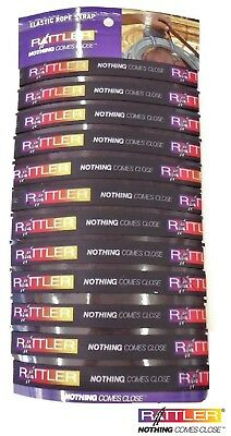Classic Ropes Elastic Lariat Rope Holder Strap 12 Pack Display New Free Ship