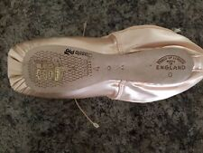"""NEW freed of london Classic Pro pointe shoes sz 4x Maker """"A"""""""