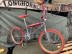 Old School Bmx Pro Neck National Pro 1983 Redline 401 Oakley F1 Hutch Etc Rare