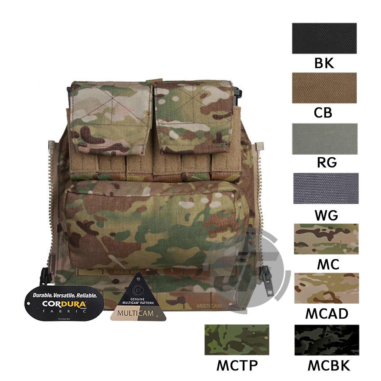 Emersongear Pack Portador de Placa de panel de cremallera en la espalda bolsa bolsa para CPC AVS JPC2.0