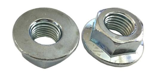 Non-Serrated Class 10 Zinc 5 M16-2.0 Hexagon Flange Nut ISO 4161 DIN 6923