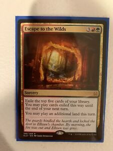 Mtg Magic Escape To The Wilds Throne Of Eldraine Ebay