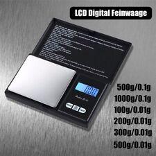 Joshs MR1 Digitalwaage Feinwaage in 0,01 g Schritten präzise bis 100g Taschenwa