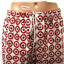 Target Stores Signature Logo Mens Red White Pajama Bottoms Size Large