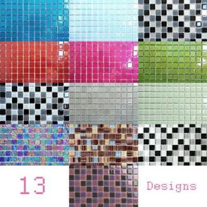 Image Is Loading Trade Prices Gl Mosaic Tile Sheets Green