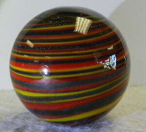 #12811m Handmade Contemporary Swirl Marble 1.58 Inches