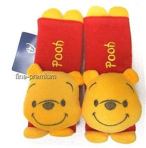 Image Is Loading 2pcs Winnie The Pooh Car Seat Belt Cover