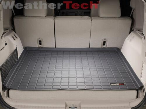 Black 2006-2010 WeatherTech Cargo Liner Trunk Mat for Jeep Commander