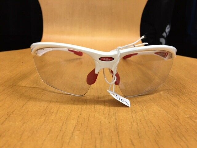 Rudy Project  Stratofly White and red (clear lenses)  luxury brand