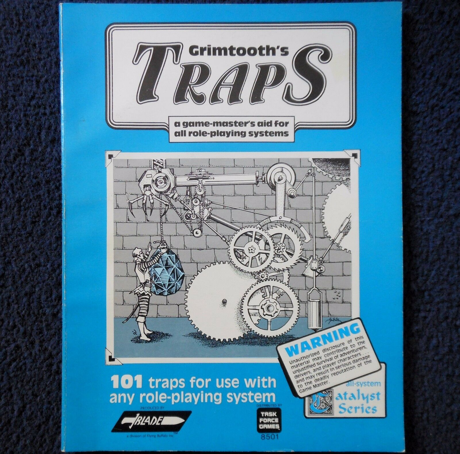 Grimtooth's Traps LB Advanced Dungeons & Dragons Adventure Module D&D Game 8501