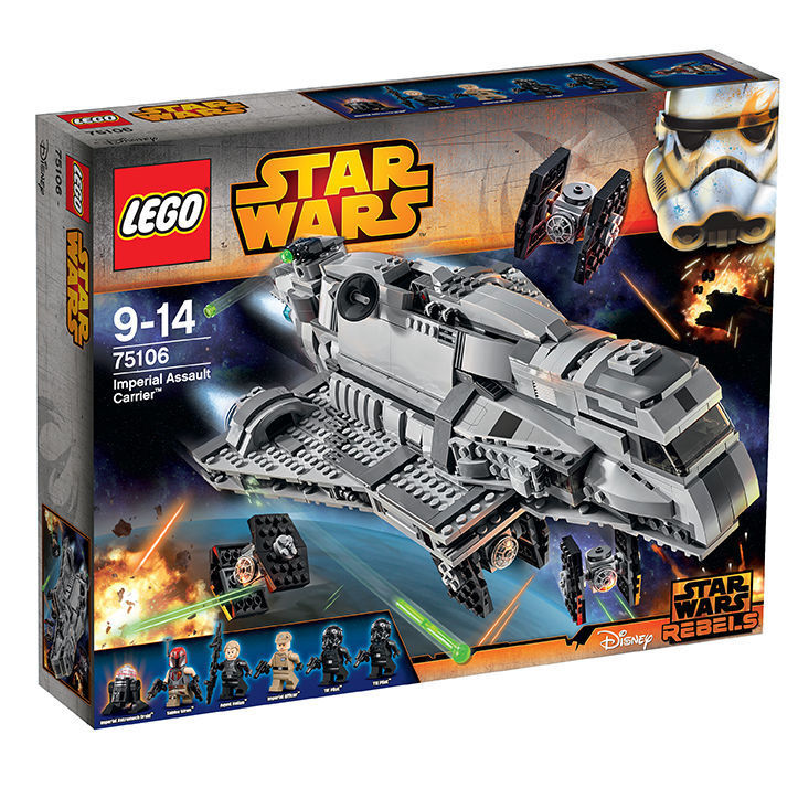 LEGO Star Wars 75106 Imperial Assault Carrier, NEU & OVP