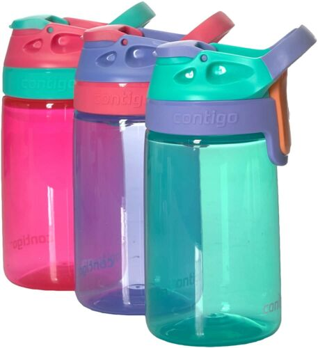 Contigo 14 oz Kids Autoseal Gizmo Sip Bouteille d/'EAU FUITE /& Spill Proof 3 Pique Coton environ 396.89 g
