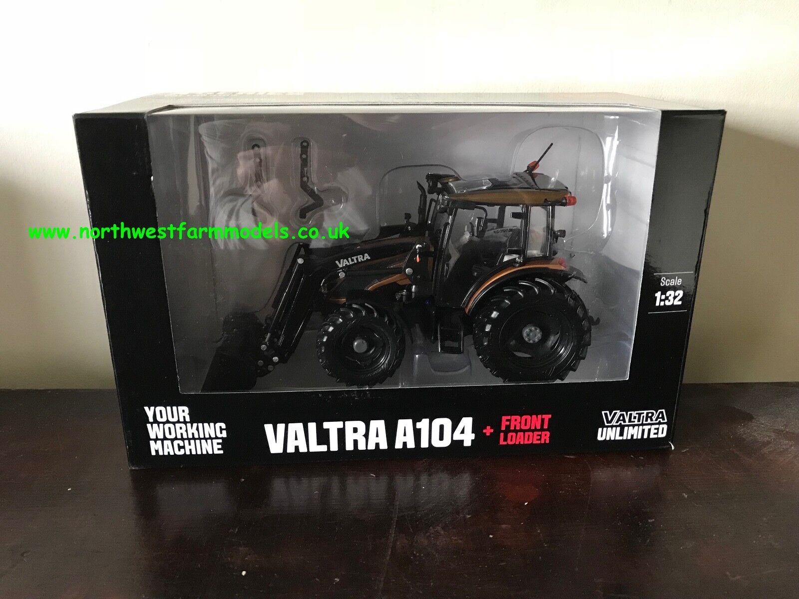 Ros Valtra A104 escala 1 32 con Cargador Frontal-Edición Limitada