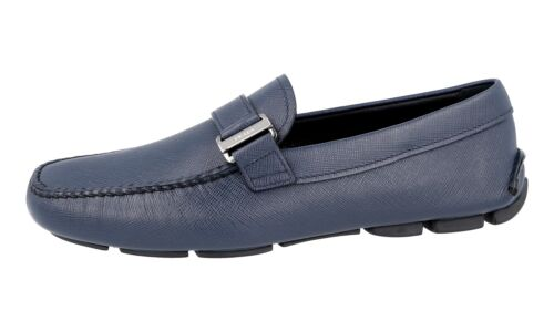Prada 2dd113 Luxury New 10 Loafer Baltic 44 Saffiano 44 5 dsthrCQxB