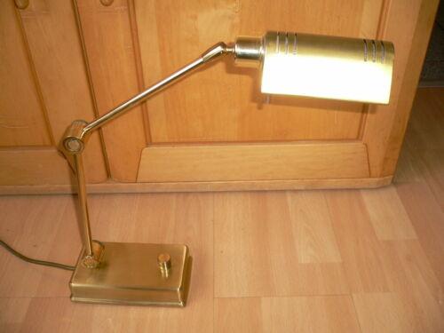 1 x Holtkötter 8346//1 Designer 83015 Wandlampe Gelenk Lampe Messing /'80er Jahre