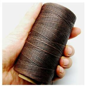 284yrd-deep-brown-Leather-Sewing-Waxed-Thread-150D-1mm-Leather-Hand-Stitching