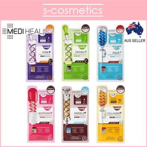 MEDIHEAL-2-Step-Smart-Mask-3ml-25ml-Aqua-Double-Blemish-Wrinkle-Collagen